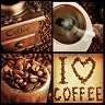 Салфетки за декупаж - Кафе - Пакет от 20 броя -