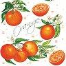 Салфетки за декупаж - Портокали - Пакет от 20 броя -