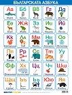Учебно табло: Българската азбука -