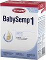 Мляко за кърмачета - Baby Semp 1 - Опаковка от 800 g за бебета от момента на раждането -