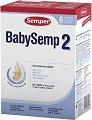 Преходно мляко - Baby Semp 2 - Опаковка от 800 g за бебета от 6 до 12 месеца -