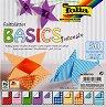 Хартия за оригами - Basic Intensiv - Комплект от 50 листа с размер 15 х 15 cm -