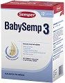 Преходно мляко - Baby Semp 3 - Опаковка от 800 g за бебета над 9 месеца -
