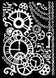 Шаблон - Механизъм - Размери 20 х 25 сm