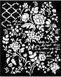 Шаблон - Флорална фантазия - Размери 20 х 25 сm -