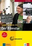 Lesen & Horen - ниво A1: Der Filmstar Buch + CD -