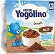 Nestle Yogolino - Млечен десерт какао - Опаковка от 4 х 100 g за бебета над 6 месеца -