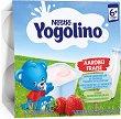 Nestle Yogolino - Млечен десерт ягода - Опаковка от 4 х 100 g за бебета над 6 месеца -