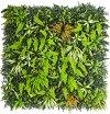 Извит кол за растения - Комплект от 3 броя -