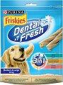Friskies Dental Fresh 3 in 1 Medium & Large - Дентално лакомство за кучета от средни и едри породи - опаковка от 7 броя -