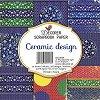 Хартии за скрапбукинг - Ceramic Design - Комплект от 24 листа