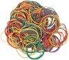 Цветни гумени ластици ∅ 50 mm - Разфасовка от 50 g -