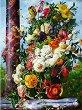 Рисуване по номера - Цветя - Комплект за картина с размери 50 x 40 cm -