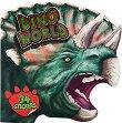 Света на динозаврите - книжка за оцветяване + стикери -