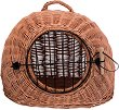 Trixie Wicker Cave with Bars - Плетен кош с вратичка за котки -