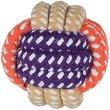 Плетена топка - Играчка за кучета -