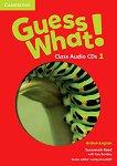 Guess What! - ниво 1: 3 CD с аудиоматериали по английски език - Susannah Reed, Kay Bentley -
