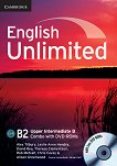 English Unlimited - Upper-Intermediate (B2): Комплект по английски език Combo B - част 2 + 2 DVD-ROM - Alex Tilbury, Leslie Anne Hendra, David Rea, Theresa Clementson, Rob Metcalf, Chris Cavey, Alison Greenwood -