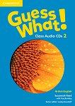 Guess What! - ниво 2: 3 CD с аудиоматериали по английски език - Susannah Reed, Kay Bentley -