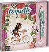 """Таен дневник и химикалка - Комплект от серията """"Coquette"""" -"""