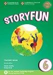 Storyfun - ниво 6: Книга за учителя по английски език : Second Edition - Karen Saxby, Emily Hird -