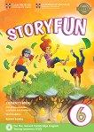 Storyfun - ниво 6: Учебник по английски език : Second Edition - Karen Saxby -