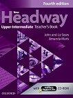 New Headway - Upper-Intermediate (B2): Книга за учителя по английски език + CD-ROM : Fourth Edition - John Soars, Liz Soars, Amanda Maris -