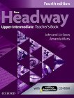 New Headway - Upper-Intermediate (B2): Книга за учителя по английски език + CD-ROM : Fourth Edition - John Soars, Liz Soars, Amanda Maris -