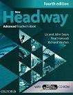 New Headway - Advanced (C1): Книга за учителя по английски език + CD-ROM Fourth Edition -