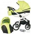 Бебешка количка 2 в 1 - Neo Style - С 4 колела -