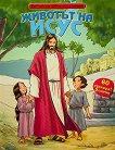 Животът на Исус: Библейски албум + стикери - книга