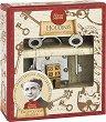 """Ключът на Худини - 3D метален пъзел от серията """"Great Minds"""" -"""
