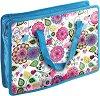 """Чанта за съхранение на документи - Формат А4 от серията """"Flowers"""" -"""