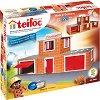 """Пожарна - Детски сглобяем модел от истински тухлички от серията """"Teifoc: Classic"""" -"""