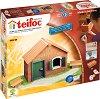 """Лятна къща - Детски сглобяем модел от истински тухлички от серията """"Teifoc: Classic"""" -"""
