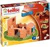 """Къща крепост - 3 в 1 - Детски сглобяем модел от истински тухлички от серията """"Teifoc: Classic"""" -"""