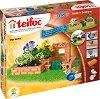 """Малка градина - 2 в 1 - Детски сглобяем модел от истински тухлички от серията """"Teifoc: Classic"""" -"""