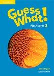 Guess What! - ниво 2: Флашкарти по английски език - Susannah Reed - продукт