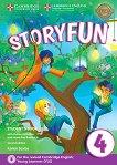 Storyfun - ниво 4: Учебник по английски език : Second Edition - Karen Saxby -