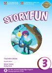 Storyfun - ниво 3: Книга за учителя по английски език : Second Edition - Karen Saxby, Emily Hird -