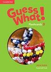 Guess What! - ниво 3: Флашкарти по английски език - Susannah Reed - продукт