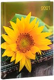 Lady Timer - Sonnenblume: Календар-бележник 2021 - 10.7 x 15.3 cm - продукт