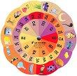 Златно ключе: Магически кръг на думите - автодидактична игра за 4. подготвителна група - книга