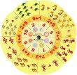Златно ключе: Магически кръг на смятането - автодидактична игра за 4. подготвителна група -