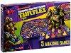 Костенурките нинжа - 5 в 1 - Детски състезателни игри -