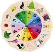 Златно ключе: Магически кръг на думите - автодидактична игра за 3. група -