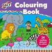 Galt: Животни - книжка за оцветяване Animals - Colouring Book - детска книга