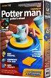 """Създай сам с грънчарско колело и глина - Градински саксии - Творчески комплект от серията """"Potter man"""" -"""