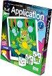 """Създай сам апликация без ножица и лепило - Жабка - Творчески комплект от серията """"Aplication"""" -"""