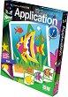 """Създай сам апликация без ножица и лепило - Подводен свят - Творчески комплект от серията """"Aplication"""" -"""